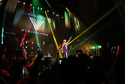 LOS ANGELES, CA - OCTOBER 18: Singer and songwriter Farruko performs onstage in his 'Visionary World Tour' Concert at the Avalon Hollywood on October 18, 2016 in Los Angeles, California, USA. Byline, credit, TV usage, web usage or linkback must read SILVEXPHOTO.COM. Failure to byline correctly will incur double the agreed fee. Tel: +1 714 504 6870.