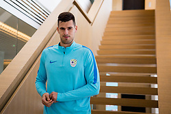 Nemanja Mitrovic during Training of Slovenian National Football team before friendly matches with Austria and Belarus, on March 19, 2018 in Football National Centre, Brdo pri Kranju, Kranj, Slovenia. Photo by Ziga Zupan / Sportida