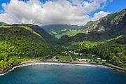 Omao Valley, Fatu Hiva, Marquesas, French Polynesia, South Pacific