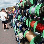 Havendag 2001 Huizen, verschillende touwen en kabels