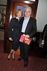 BILL KENWRIGHT and JENNY SEAGROVE at the What's On Stage Awards 2012 held at the Prince of wales Theatre, London on 19th February 2012.