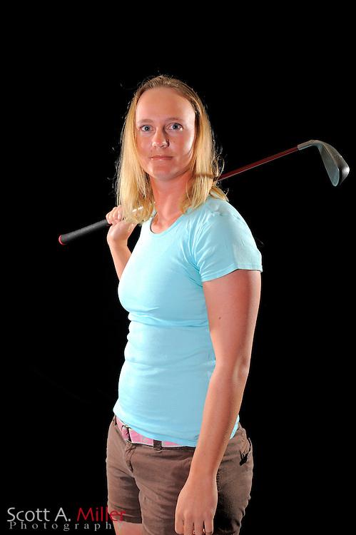 Abby Bools during a portrait shoot prior to the LPGA Future Tour's Daytona Beach Invitational at LPGA International's Championship Courser on March 28, 2011 in Daytona Beach, Florida... ©2011 Scott A. Miller