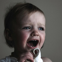 Young child crying