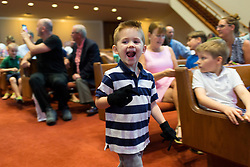 Jackson's first Spring Sing, Thursday, April 28, 2016 at St. Matthews Baptist Church in Louisville.