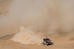 Ignacio Casale (CHL) races during stage 05 of Rally Dakar 2019 from Monquegua, to Arequipa, Peru on January 11, 2019 // Marcelo Maragni/Red Bull Content Pool // AP-1Y3KKPDGS1W11 // Usage for editorial use only // Please go to www.redbullcontentpool.com for further information. //