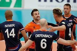 20170524 NED: 2018 FIVB Volleyball World Championship qualification, Koog aan de Zaan<br />Dirk Sparidans (3) of The Netherlands <br />©2017-FotoHoogendoorn.nl / Pim Waslander