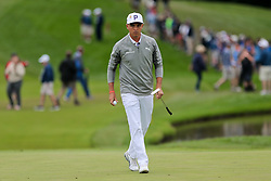 September 8, 2018 - Newtown Square, Pennsylvania, United States - Rickie Fowler walks off the 10th green during the third round of the 2018 BMW Championship. (Credit Image: © Debby Wong/ZUMA Wire)