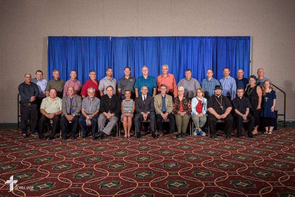 North Wisconsin District group photograph on Sunday, July 10, 2016, at the 66th Regular Convention of The Lutheran Church–Missouri Synod in Milwaukee. LCMS/Erik M. Lunsford
