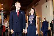 120518 Spanish Royals attends the Concert commemorating the 40th anniversary of the Constitution
