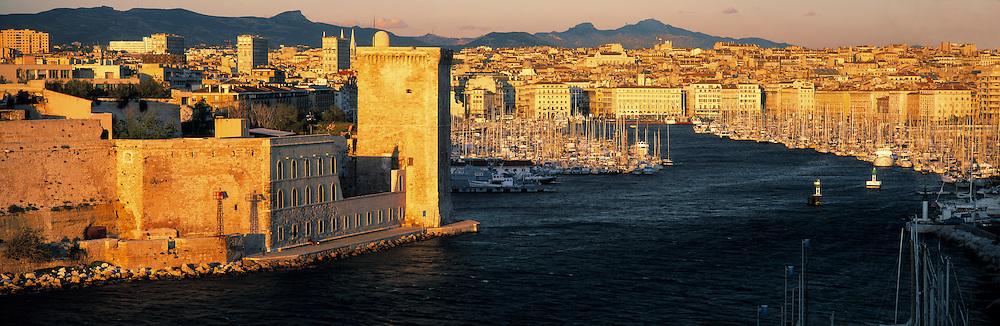 Old Port, Marseille, Buches-du-Rhone, Provence, France