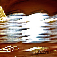 Grand Central Terminal - The iconic windows undulating with energy. The energy waving and weaving through the grand hall.