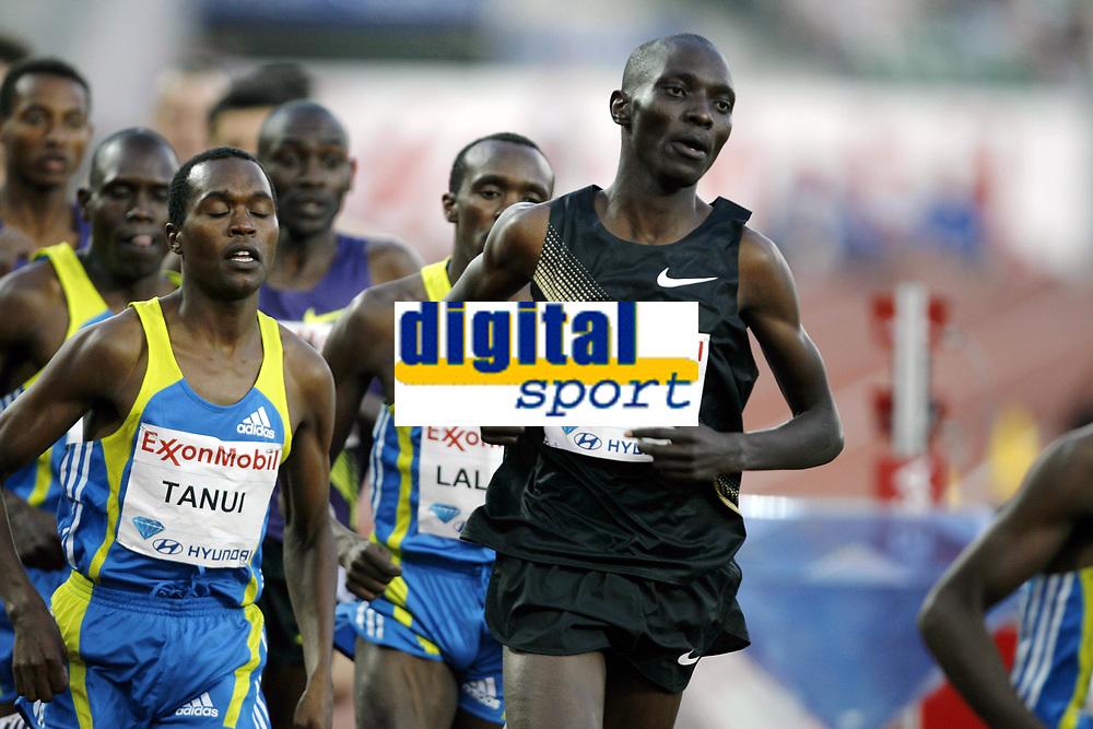 Friidrett, 4. juni 2010,  Diamond League , Bislett Games Oslo<br /> <br /> <br /> Asbel Kiprop , KEN, winner 1 mile