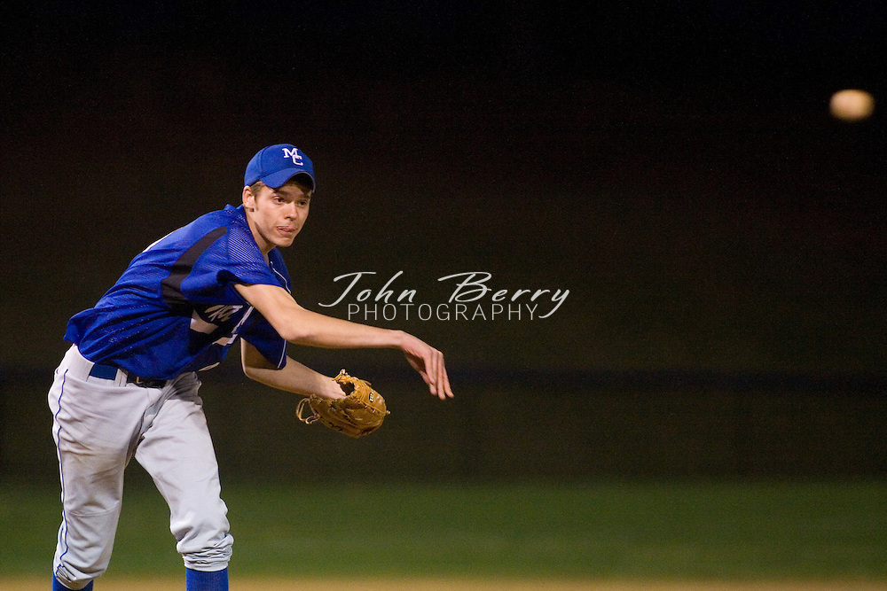MCHS Varsity Baseball.vs Luray.March 29, 2007