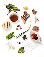 Pho ingredients at Lac Viet.(Jodi Miller/Crave)