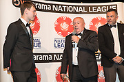 Interview during the National League Gala Awards Evening at Celtic Manor Resort, Newport, South Wales on 9 June 2018. Picture by Shane Healey.