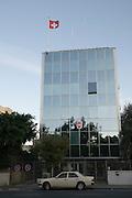 Israel, Tel Aviv, The Swiss Embassy in Hayarkon Street