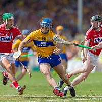 Clare's Darragh Corry V Cork's Eoin Cadigan, Damien Cahalane  and Colm Spillane