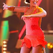 NLD/Hilversum/20130202 - 6de liveshow Sterren Dansen op het IJs 2013, Laura Ponticorvo