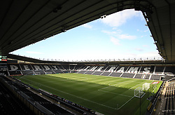 General view of the iPro Stadium before the match - Mandatory by-line: Jack Phillips/JMP - 09/08/2016 - FOOTBALL - iPro Stadium - Derby, England - Derby County v Grimsby Town - EFL Cup First Round