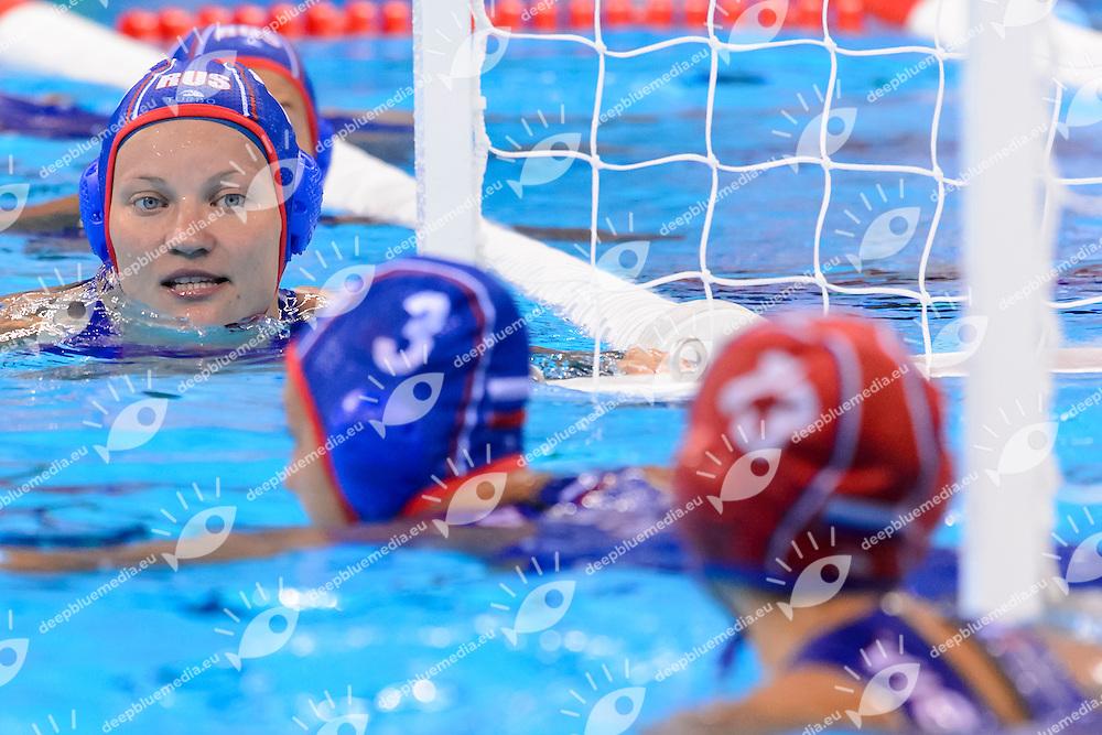 Rio de Janeiro 19-08-2016 Olympic Aquatics Stadium  - Water Polo <br /> Women's Bronze Medal Match, <br /> HUNGARY - RUSSIA <br />  Foto Andrea Staccioli/Deepbluemedia/Insidefoto