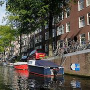 NLD/Amsterdam/20120812 - Varen door de Amsterdamse grachten, Bloemgracht