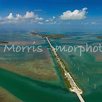 EAerial view of the Florida Keys Overseas Highway from Islamorada looking south. Aerial view of the Florida Keys Overseas Highway from islamorada looking south. This version is watermarked, contact us to license and clean version.