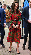 London The Duke and Duchess of Cambridge and Prince Harry join a Christmas Party 19 Dec 2016