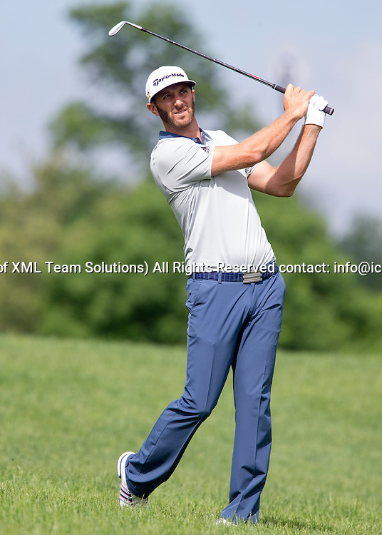 June 05 2016:  Dublin, OH, USA: Dustin Johnson during the Final Round of the Memorial Tournament presented by Nationwide at the Muirfield Village Golf Club. (Photo by Jason Mowry/Icon Sportwire)