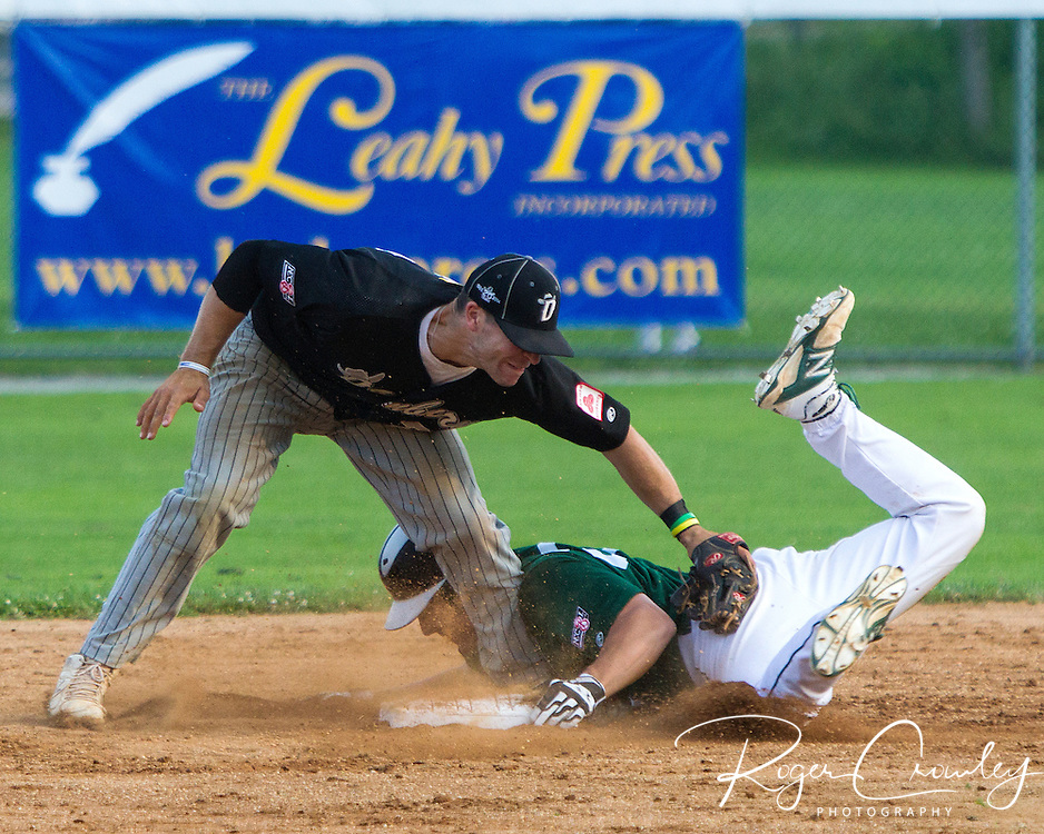 The Vermont Mountaineers defeated the Danbury Westerners 4-1 in New England Collegiate Baseball League (NECBL) action at Recreation Field.