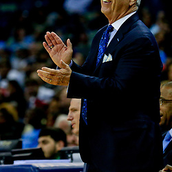 Nov 11, 2016; New Orleans, LA, USA;  North Carolina Tar Heels head coach Roy Williams against the Tulane Green Wave during the second half of a game at the Smoothie King Center. North Carolina defeated Tulane 95-75. Mandatory Credit: Derick E. Hingle-USA TODAY Sports