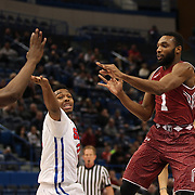 Josh Brown, Temple, in action during the Temple Vs SMU Semi Final game at the American Athletic Conference Men's College Basketball Championships 2015 at the XL Center, Hartford, Connecticut, USA. 14th March 2015. Photo Tim Clayton