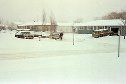 Bloomington Illinois and McLean County - February 1979 winter storm.<br /> <br /> This image was scanned from a slide, print or transparency.  Image quality may vary.  Dust and other unwanted artifacts may exist.