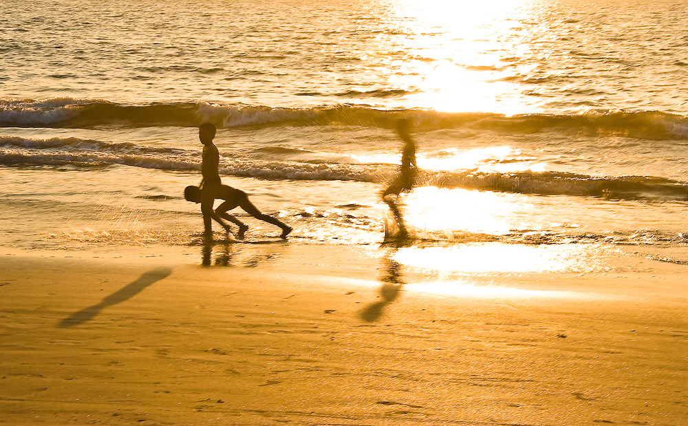 Beach Photography at sunset, Goa