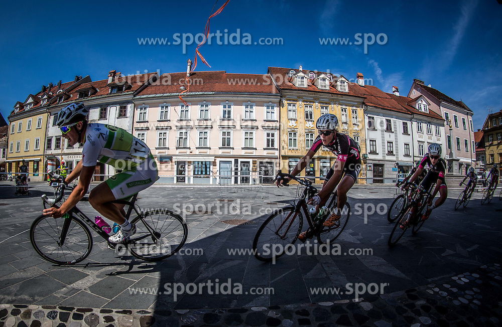 Damir Cancar of Perutnina Ptuj during cycling race On the streets of Kranj 2016, on July 31, 2016 in Kranj centre, Slovenia. Photo by Vid Ponikvar / Sportida