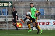 Forest Green Rovers Rendijs Kalnins controls the ball during the Pre-Season Friendly match between Torquay United and Forest Green Rovers at Plainmoor, Torquay, England on 10 July 2018. Picture by Shane Healey.