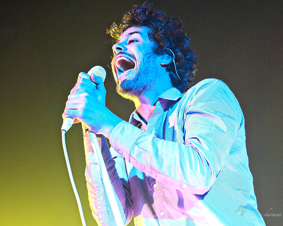 "Passion Pit performs in support of their CD ""Manners"" at the Moore Theatre in Seattle, Washington, November 30th, 2010"