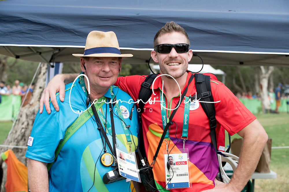 Burgess Darryl, Scheele Brian<br /> Olympic Games Rio 2016<br /> &copy; Hippo Foto - Dirk Caremans<br /> 08/08/16
