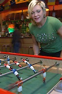 Kick Bar, Table Soccer, Shoreditch High Street, Spitalfields, London, Great Britain, UK