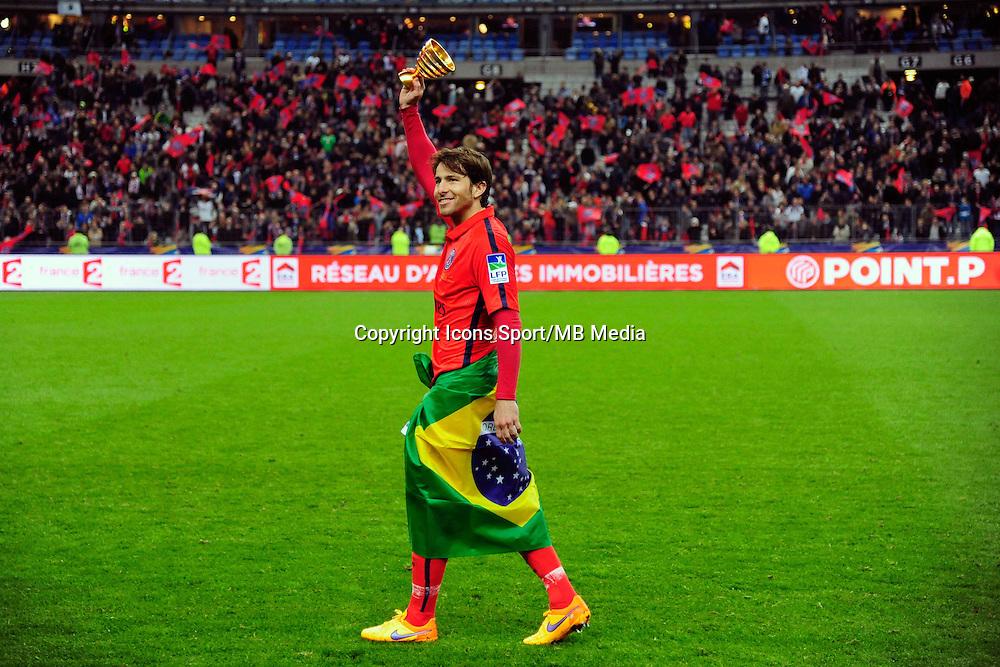 Victoire du PSG / Sherrer MAXWELL  - 11.04.2015 -  Bastia / PSG - Finale de la Coupe de la Ligue 2015<br />Photo : Dave Winter / Icon Sport