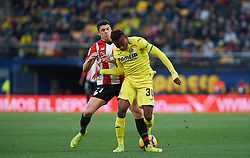 January 20, 2019 - Vila-Real, Castellon, Spain - Samu Chukwueze of Villarreal and Ander Capa of Athletic Club de Bilbao during the La Liga Santander match between Villarreal and Athletic Club de Bilbao at La Ceramica Stadium on Jenuary 20, 2019 in Vila-real, Spain. (Credit Image: © AFP7 via ZUMA Wire)