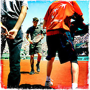Roland Garros. Paris, France. May 28th 2012.Roger FEDERER