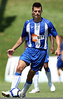 Fotball<br /> England<br /> Treningsleir Østerrike<br /> 22.07.2009<br /> Foto: Gepa/Digitalsport<br /> NORWAY ONLY<br /> <br /> Wigan Athletic vs FCU Timisoara, Vorbereitungsspiel. Bild zeigt Paul Scharner (Wigan)