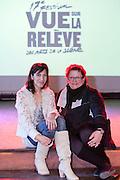Évelyne de la Chenelière, porte parole du 17e festival Vue sur la relève des arts de la scène du 4 au 21 avril 2012 /  le Lion d'Or / Montreal / Canada / 2012-03-06, © Photo Marc Gibert / adecom.ca