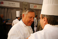 Georges Blanc, Daniel Boulud au Bocuse d'Or, Lyon..27 jan, 3009