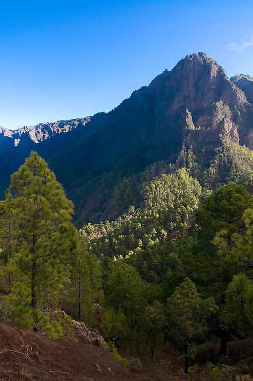 The volcano de Taburiente National Park,La Palma,Canary island,Spain