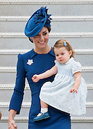 Shades Of Blue: Cambridges Begin Canada Tour