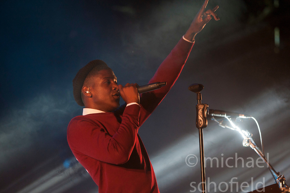 Labrinth plays the King Tuts Wah Wah tent. Friday at T in the Park 2012, held at Balado, in Fife, Scotland..