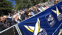 St Moritz Match Race 2010. World Match Racing Tour. St Moritz, Switzerland. 3rd September 2010. Photo: Ian Roman/WMRT.
