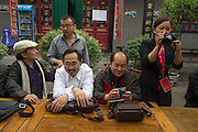 Photographers, curators, editors, teachers, Pingyao International Photography Festival 2013