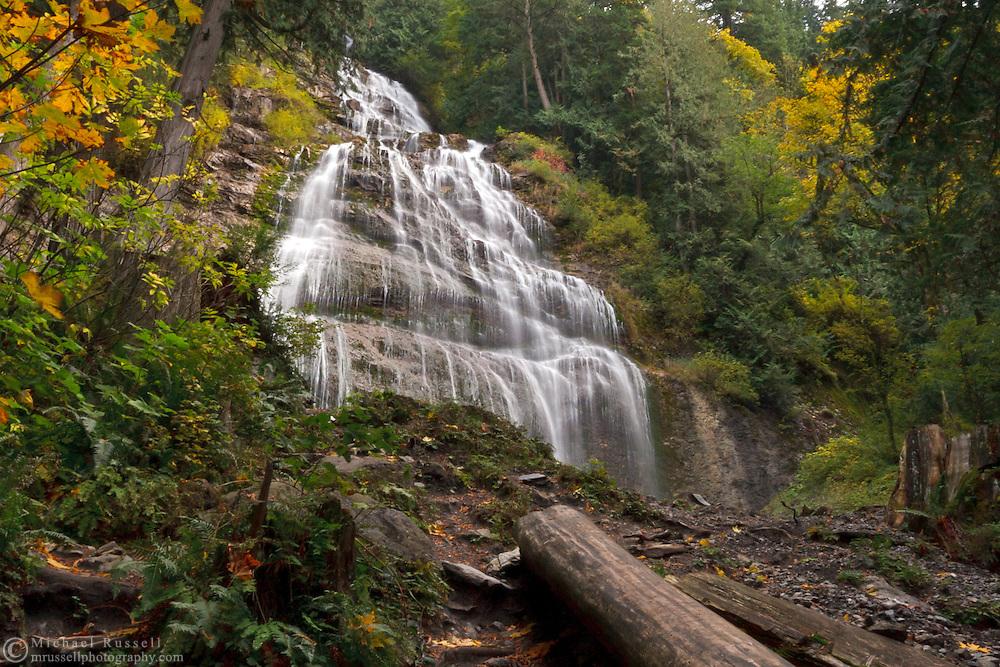 Bridal Falls in Bridal Falls Provincial Park - Chilliwack, British Columbia Canada